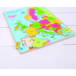 Puzzle incastru harta Europei1