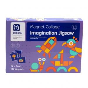 Carte magnetica Forme Geometrice Tangram Imagination1