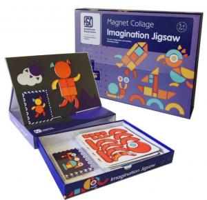 Carte magnetica Forme Geometrice Tangram Imagination2