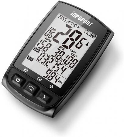 Ciclocomputer pentru bicicleta cu GPS, iGPSPORT iGS50E [1]