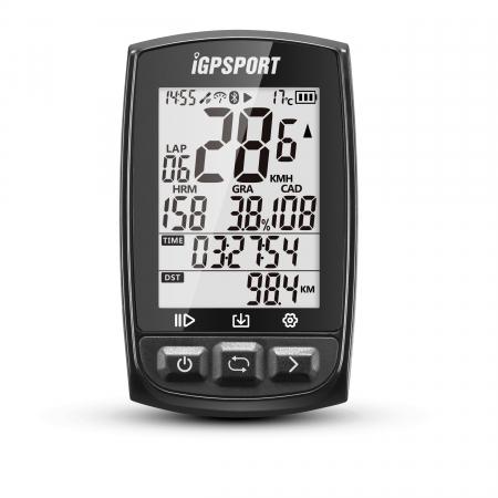 Ciclocomputer pentru bicicleta cu GPS, iGPSPORT iGS50E [0]