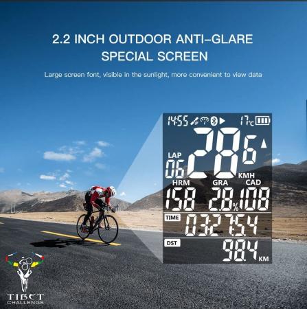Ciclocomputer pentru bicicleta cu GPS, iGPSPORT iGS50E [6]