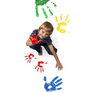 Vopsea pentru pictura cu degetele - MAXI [1]