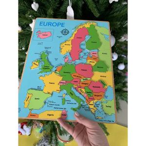 Puzzle incastru harta Europei2