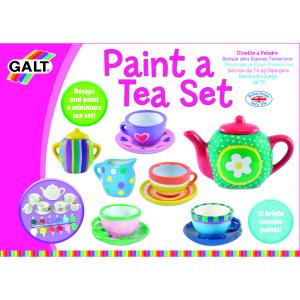 Set ceramică Pictează un set de ceai [2]