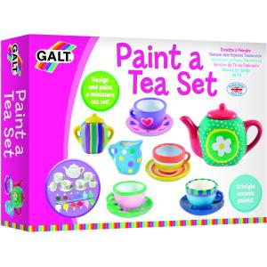 Set ceramică Pictează un set de ceai [1]