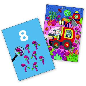Water magic: Carte de colorat Spațiu2