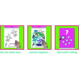 Water magic: Carte de colorat Spațiu3