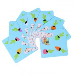 Joc lemn Memorie Gradina cu Legume - Joc Montessori din Lemn Gradina cu Legume [4]