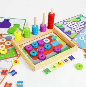 Joc educativ asociere, puzzle şi numărătoare1