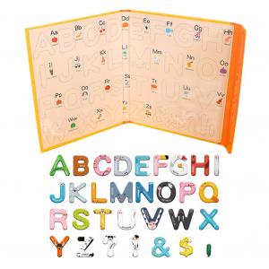 Joc lemn Carte cu Litere Magnetice si cuvinte in Engleza - Invatam alfabetul Pairing Letters [2]