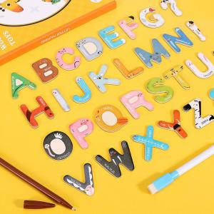 Joc lemn Carte cu Litere Magnetice si cuvinte in Engleza - Invatam alfabetul Pairing Letters [8]