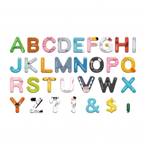 Joc lemn Carte cu Litere Magnetice si cuvinte in Engleza - Invatam alfabetul Pairing Letters [6]