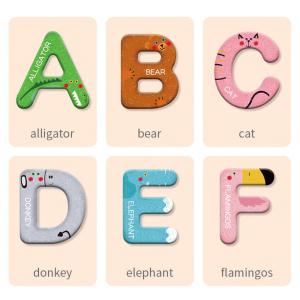 Joc lemn Carte cu Litere Magnetice si cuvinte in Engleza - Invatam alfabetul Pairing Letters [5]