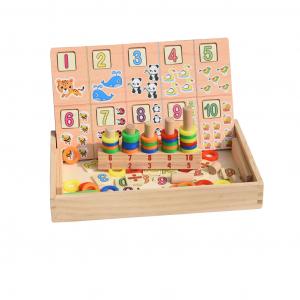 Tabla educativa Montessori Matematica Donuts Number1