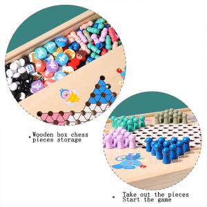 Joc din Lemn Educațional Dame - Joc din Lemn puzzle 7 în 19
