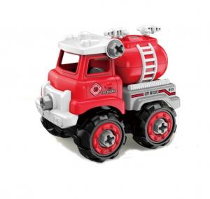 Jucarie creativa - Masina de pompieri de construit [1]