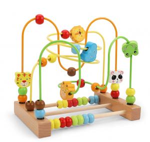 Labirint motricitate cu abac Animale – joc lemn [0]