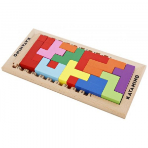 Joc logic Katamino din lemn [2]
