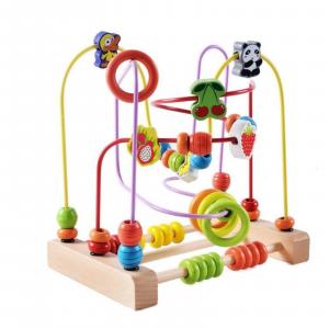 Jucărie motrică - Labirint cu Bile și Numărătoare [0]