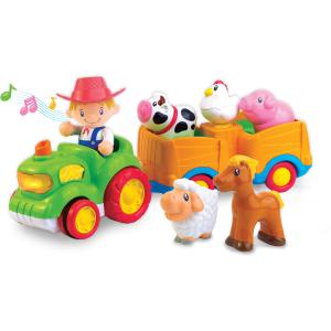 Jucărie muzicală - Tractorul de la fermă [2]