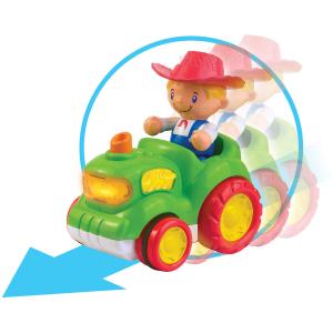 Jucărie muzicală - Tractorul de la fermă [1]
