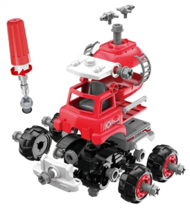 Jucarie creativa - Masina de pompieri de construit [3]