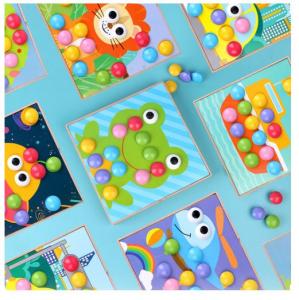 Joc mozaic creativ din lemn pentru copii3