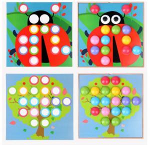 Joc mozaic creativ din lemn pentru copii4