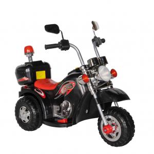 Motocicleta electrica copii cu acumulator, muzica si lumini, culoare alb [0]