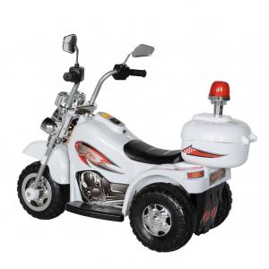 Motocicleta electrica copii cu acumulator, muzica si lumini, culoare alb3
