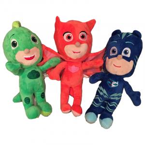 Set Jucării de Pluş - Eroi în Pijama (Bufnița, Pisoiul și Șopi), 27 cm [1]
