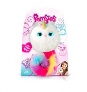 Jucărie de pluș interactivă, pisică multicoloră Pomsie [0]
