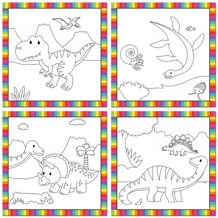 Prima mea carticica Water Magic - Micutii dinozauri [2]