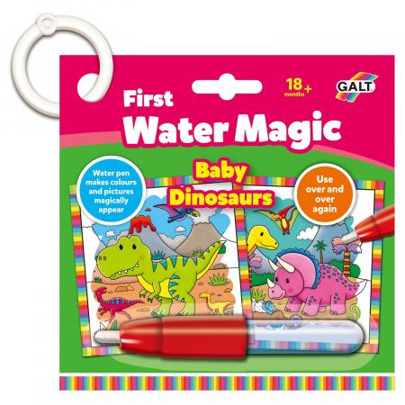 Prima mea carticica Water Magic - Micutii dinozauri [0]