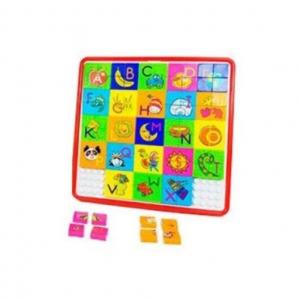 Joc educativ mozaic Puzzle Game, 100 piese, multicolor, 3 ani+ [2]