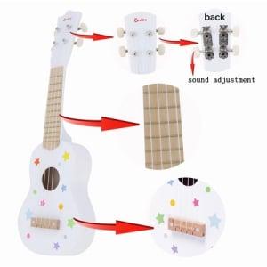 Chitară din lemn roșie Onshine1