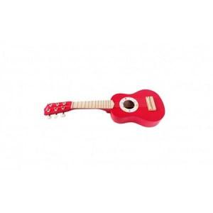 Chitară din lemn roșie Onshine0
