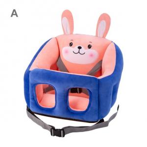 Scaun bebelusi  portabil din plus, Animale [0]