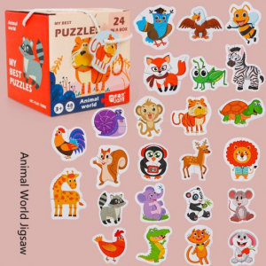 Set 24 puzzle My best puzzle - animale1