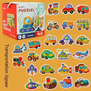 Set 24 puzzle My best puzzle - vehicule1