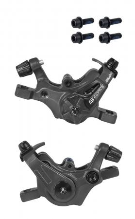 Set frane disc mecanice Force Dual MTB negru [2]