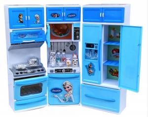 Set mare bucatarie pentru copii My Little Cooking Frozen0