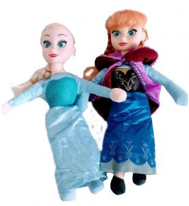 Set figurine plus muzicale Anna și Elsa (30 cm)0