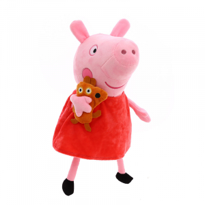 Set 6 jucarii de plus Peppa Pig, 20 cm2