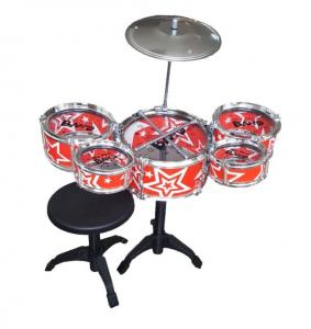 Set tobe pentru copii Jazz Drum, scaun inclus, 3 ani+0