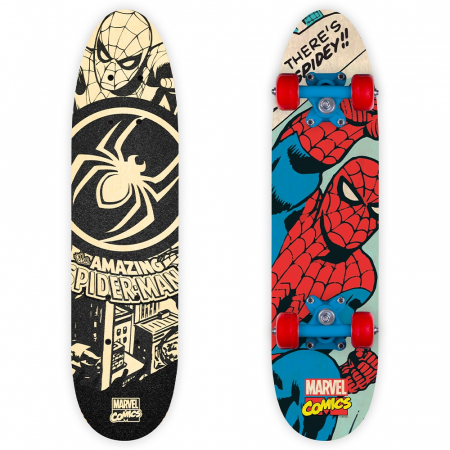 Skateboard Seven Wooden Skateboard Spiderman [0]