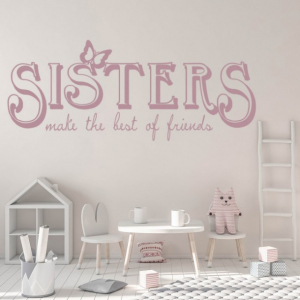 Sticker decorativ - SISTERS FRIENDS1