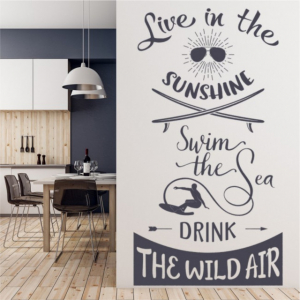 Sticker decorativ - SWIM THE SEA2