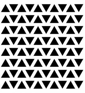 """Sticker decorativ - """"TRIUNGHI FORMA GEOMETRICA"""" - 80BUC2"""